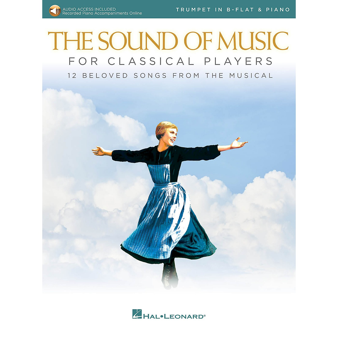 Hal Leonard The Sound of Music for Classical Players - Trumpet and Piano Book/Audio Online thumbnail