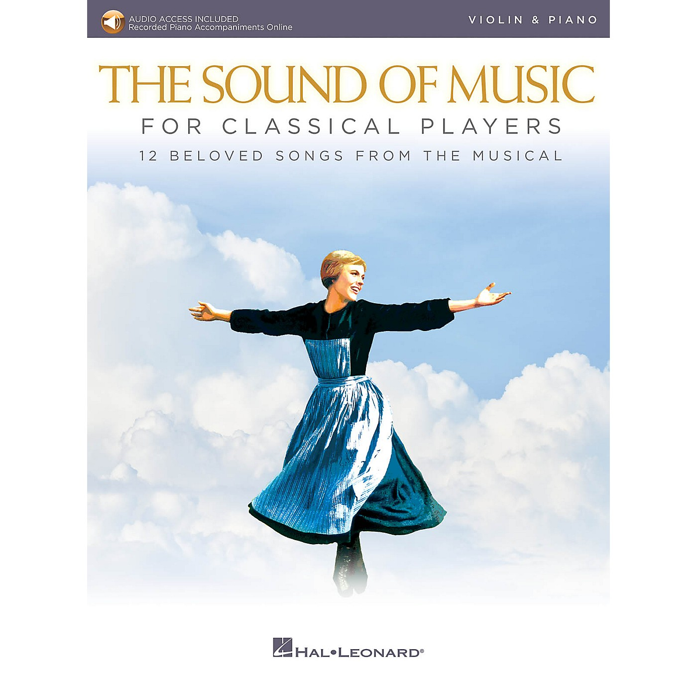 Hal Leonard The Sound of Music for Classical Players - Violin and Piano Book/Audio Online thumbnail