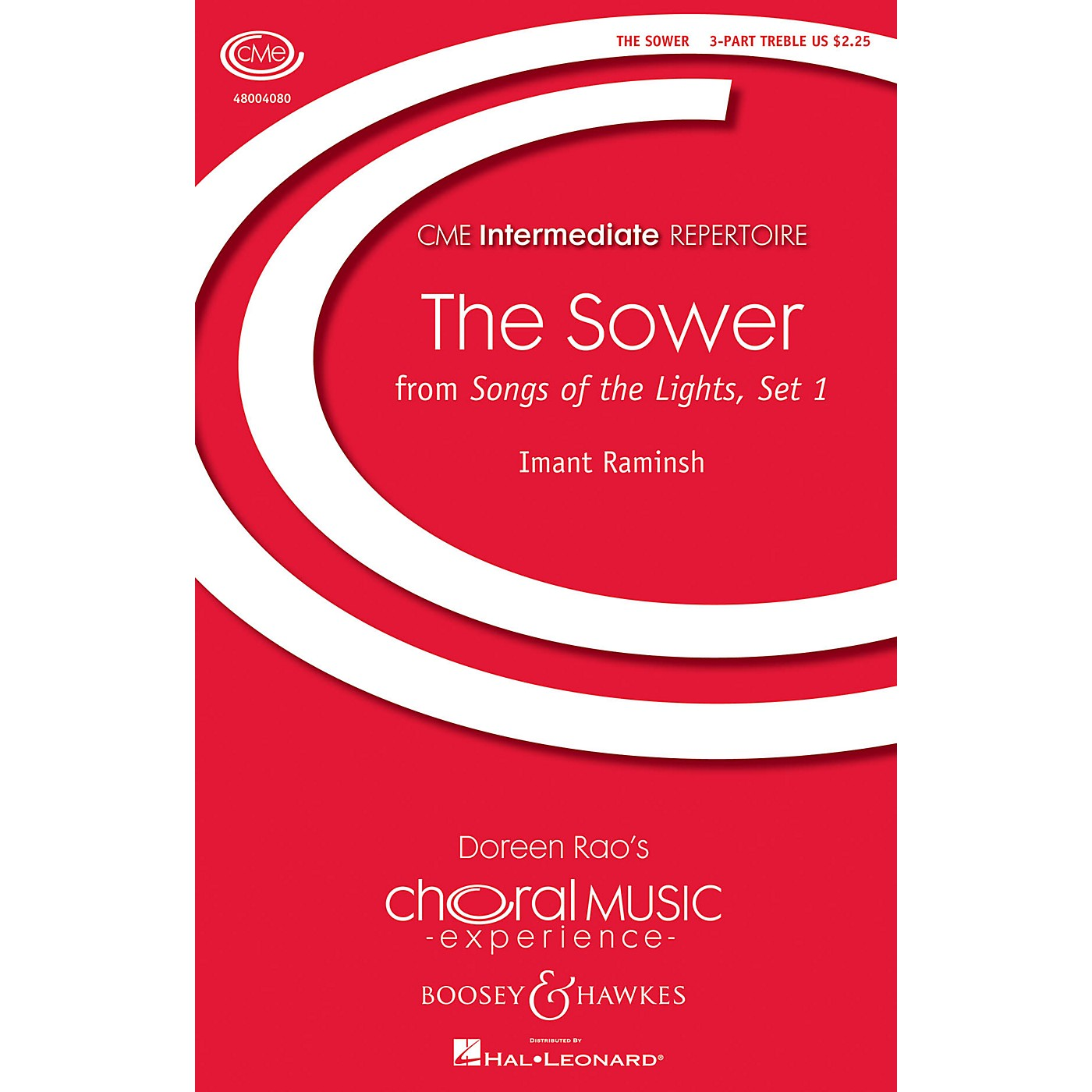 Boosey and Hawkes The Sower (from Songs of the Lights, Set I) CME Intermediate 3 Part Treble composed by Imant Raminsh thumbnail