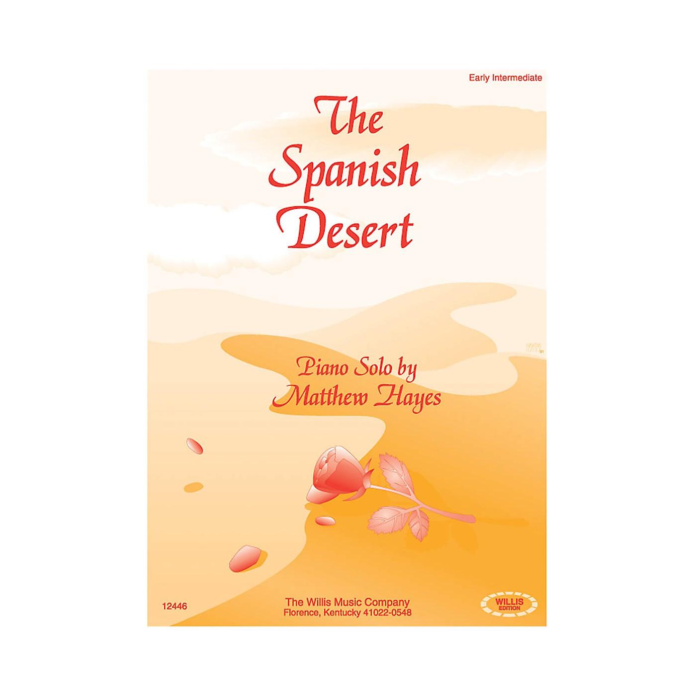 Willis Music The Spanish Desert (Early Inter Level) Willis Series by Matthew Hayes thumbnail