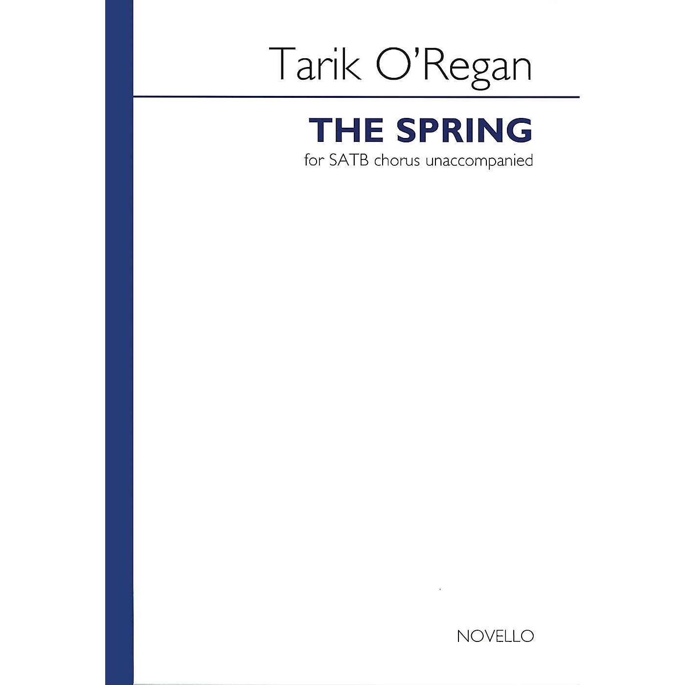 Novello The Spring SATB a cappella Composed by Tarik O'Regan thumbnail