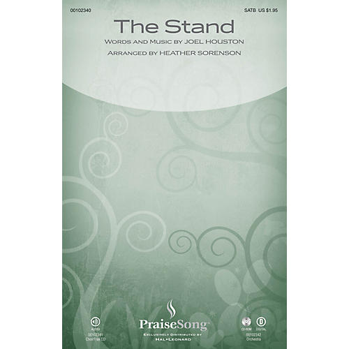 PraiseSong The Stand ORCHESTRA ACCOMPANIMENT by Hillsong Arranged by Heather Sorenson thumbnail