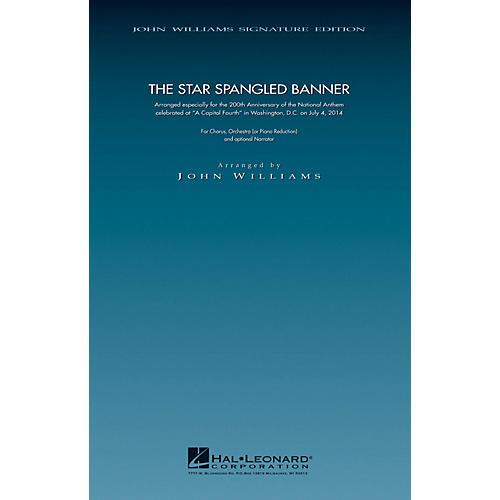 Hal Leonard The Star Spangled Banner - 200th Anniversary Edition (SATB Chorus with Piano) arranged by John Williams thumbnail