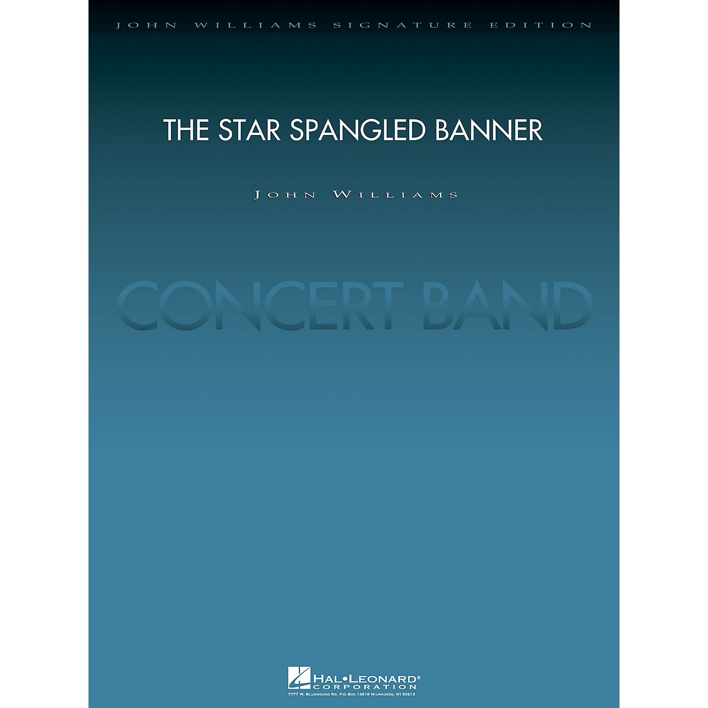 Hal Leonard The Star Spangled Banner (2004 Rose Bowl Edition Deluxe Score) Concert Band Level 5 by John Williams thumbnail