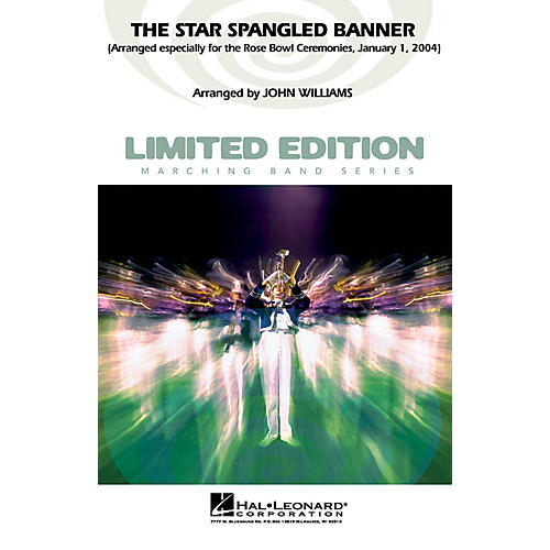 Hal Leonard The Star Spangled Banner (2004 Rose Bowl Edition) Marching Band Level 5 Arranged by John Williams thumbnail