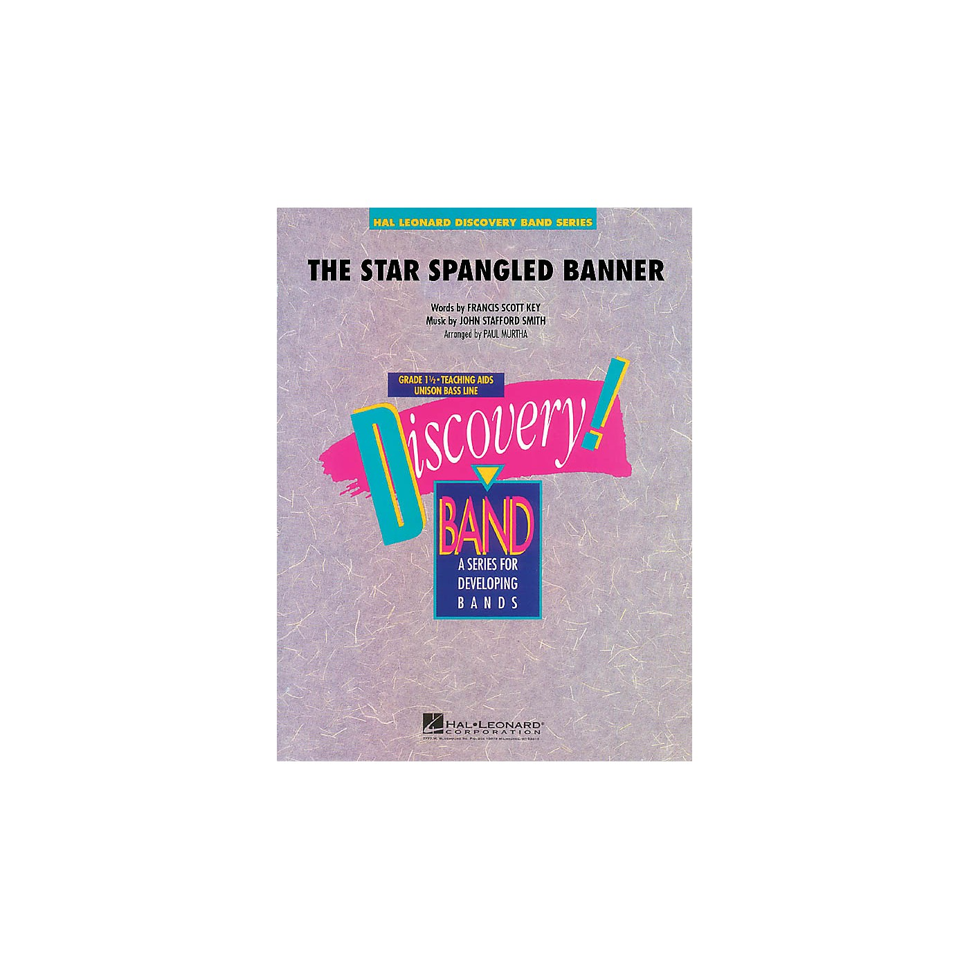 Hal Leonard The Star Spangled Banner Concert Band Level 1.5 Arranged by Paul Murtha thumbnail