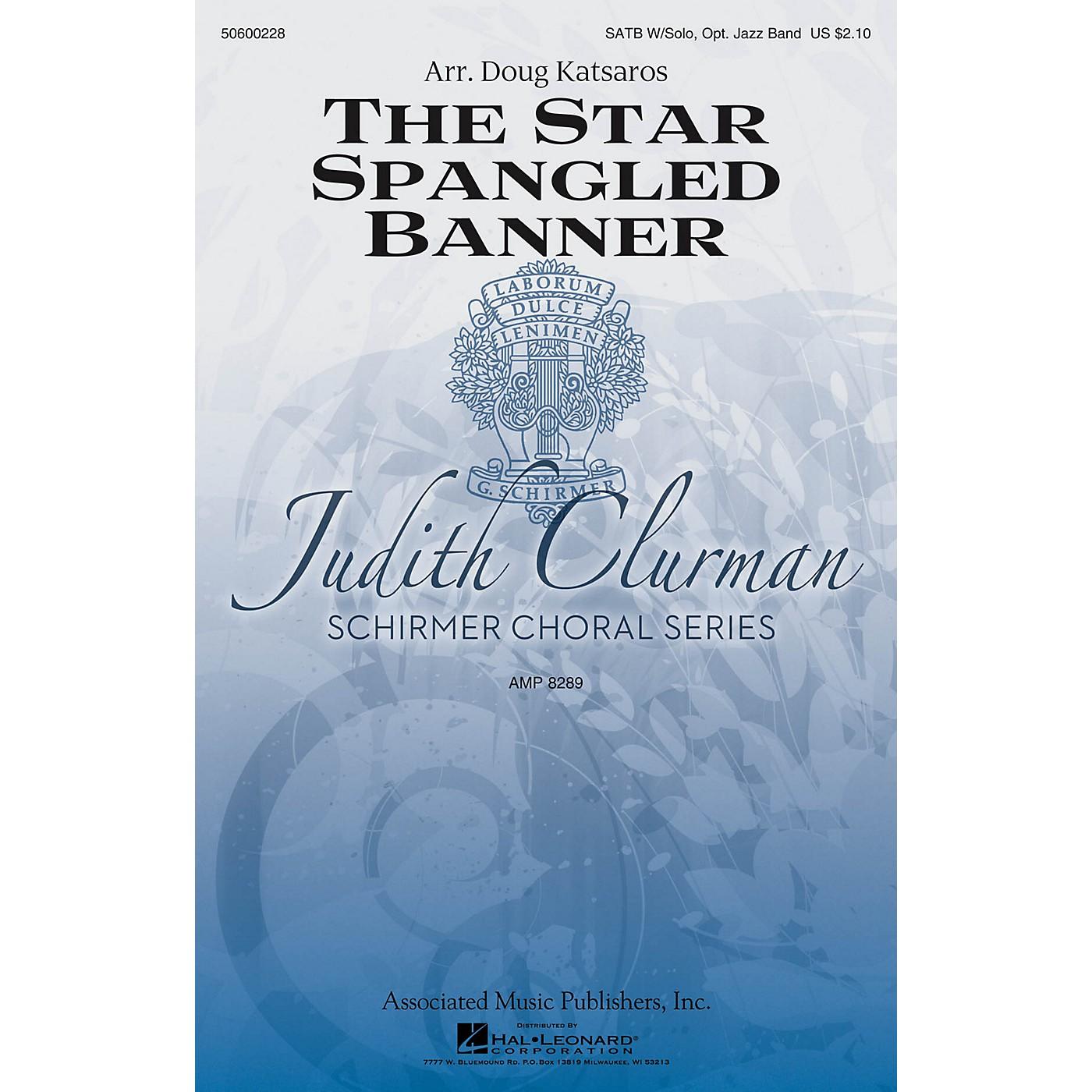 G. Schirmer The Star-Spangled Banner (Judith Clurman Choral Series) SATB arranged by Doug Katsaros thumbnail