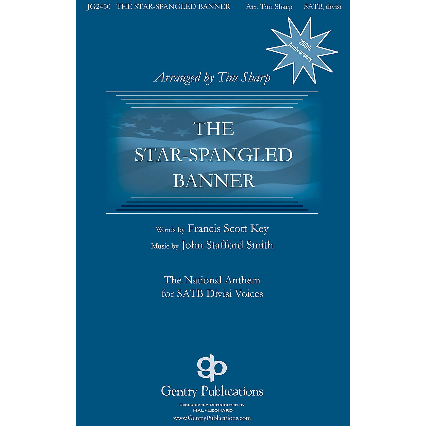 Gentry Publications The Star-Spangled Banner SATB a cappella Arranged by Tim Sharp thumbnail