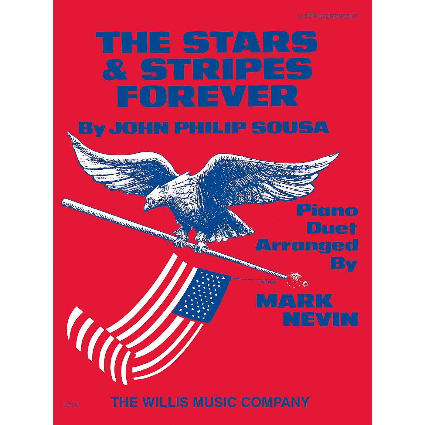Willis Music The Stars and Stripes Forever March (1 Piano, 4 Hands/Later Elem Level) Willis Series thumbnail