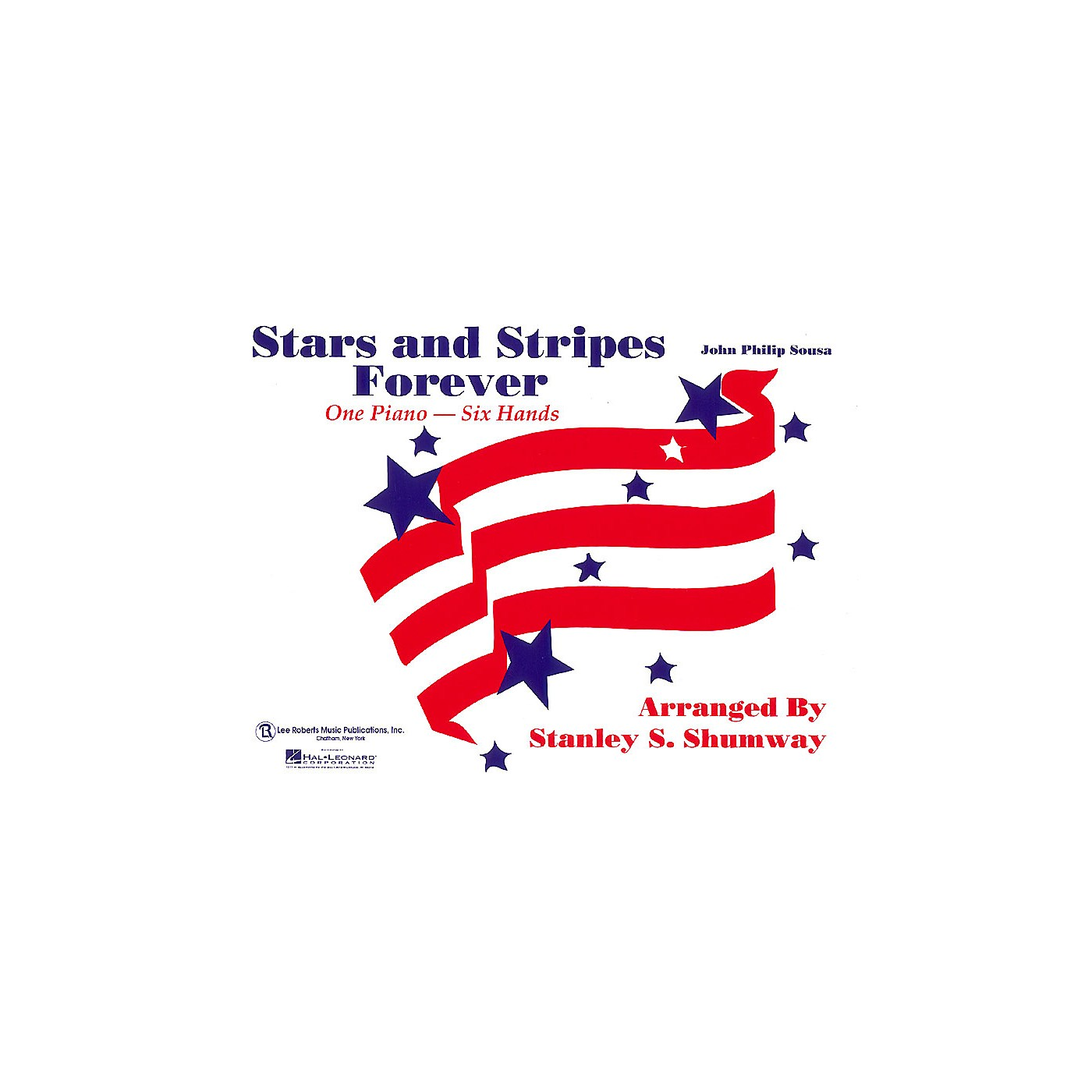 Lee Roberts The Stars and Stripes Forever March (1 Piano, 6 Hands) Pace Piano Education Series by Robert Pace thumbnail