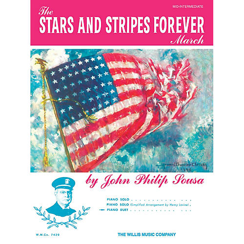 Willis Music The Stars and Stripes Forever March Willis Series by John Philip Sousa (Level Mid-Inter) thumbnail