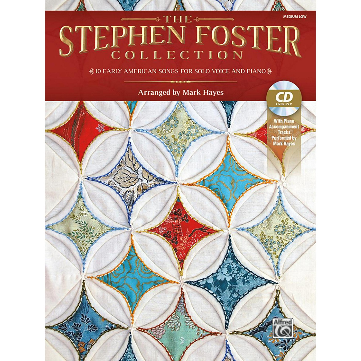 Alfred The Stephen Foster Collection Book & Acc CD Medium Low thumbnail