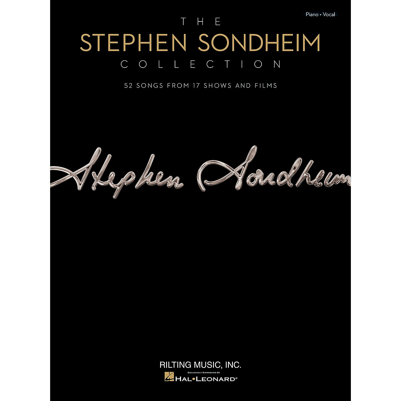 Hal Leonard The Stephen Sondheim Collection for Piano/Vocal/Vocal PVG thumbnail