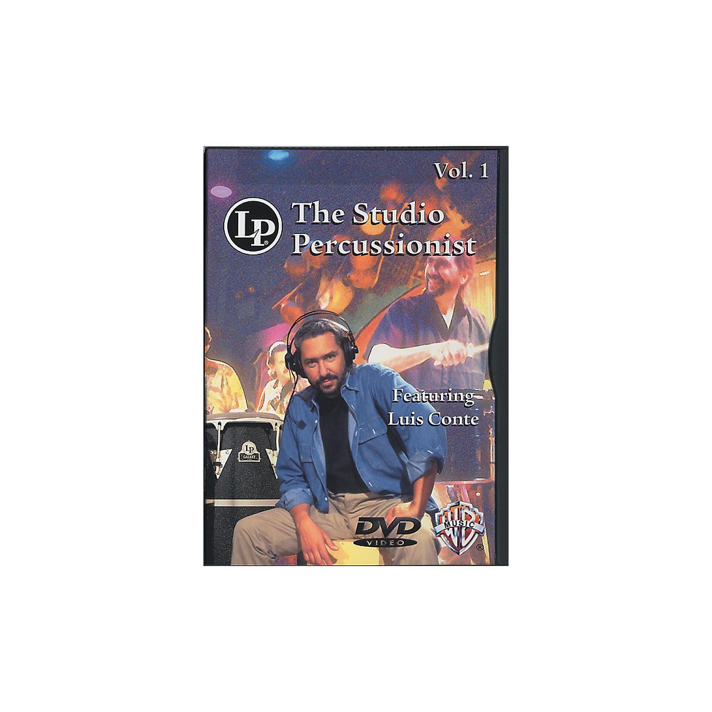 LP The Studio Percussionist Vol. 1 featuring Luis Conte DVD thumbnail