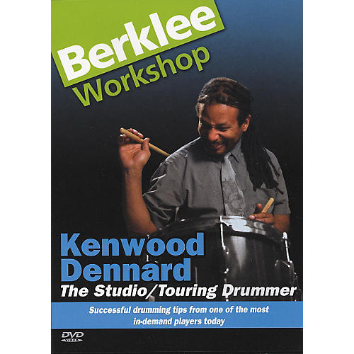 Berklee Press The Studio/Touring Drummer (DVD) thumbnail