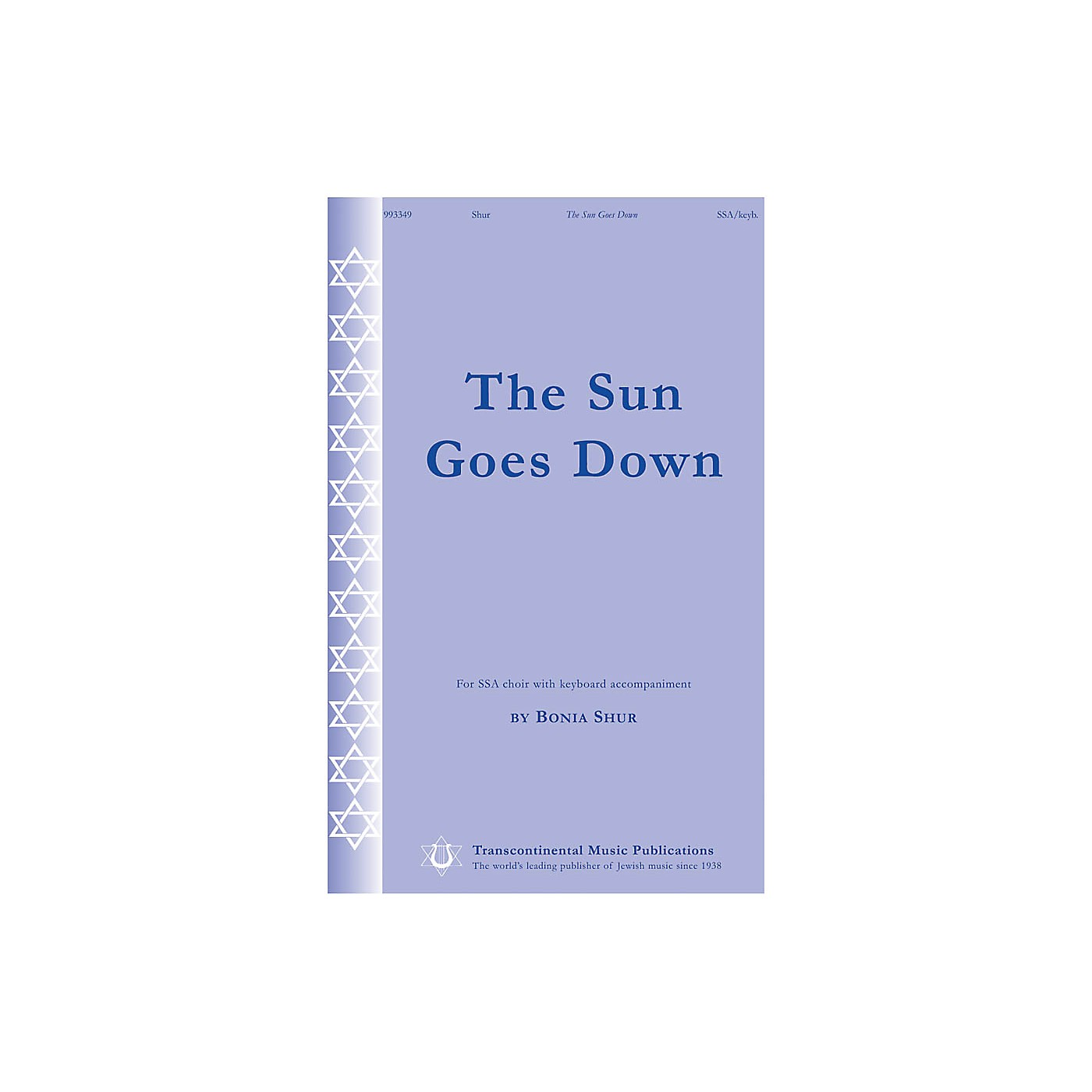 Transcontinental Music The Sun Goes Down SSA composed by Bonia Shur thumbnail