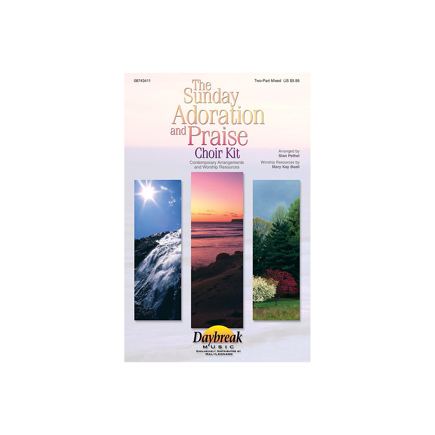 Hal Leonard The Sunday Adoration And Praise Choir Kit Preview Pak Arranged by Stan Pethel thumbnail