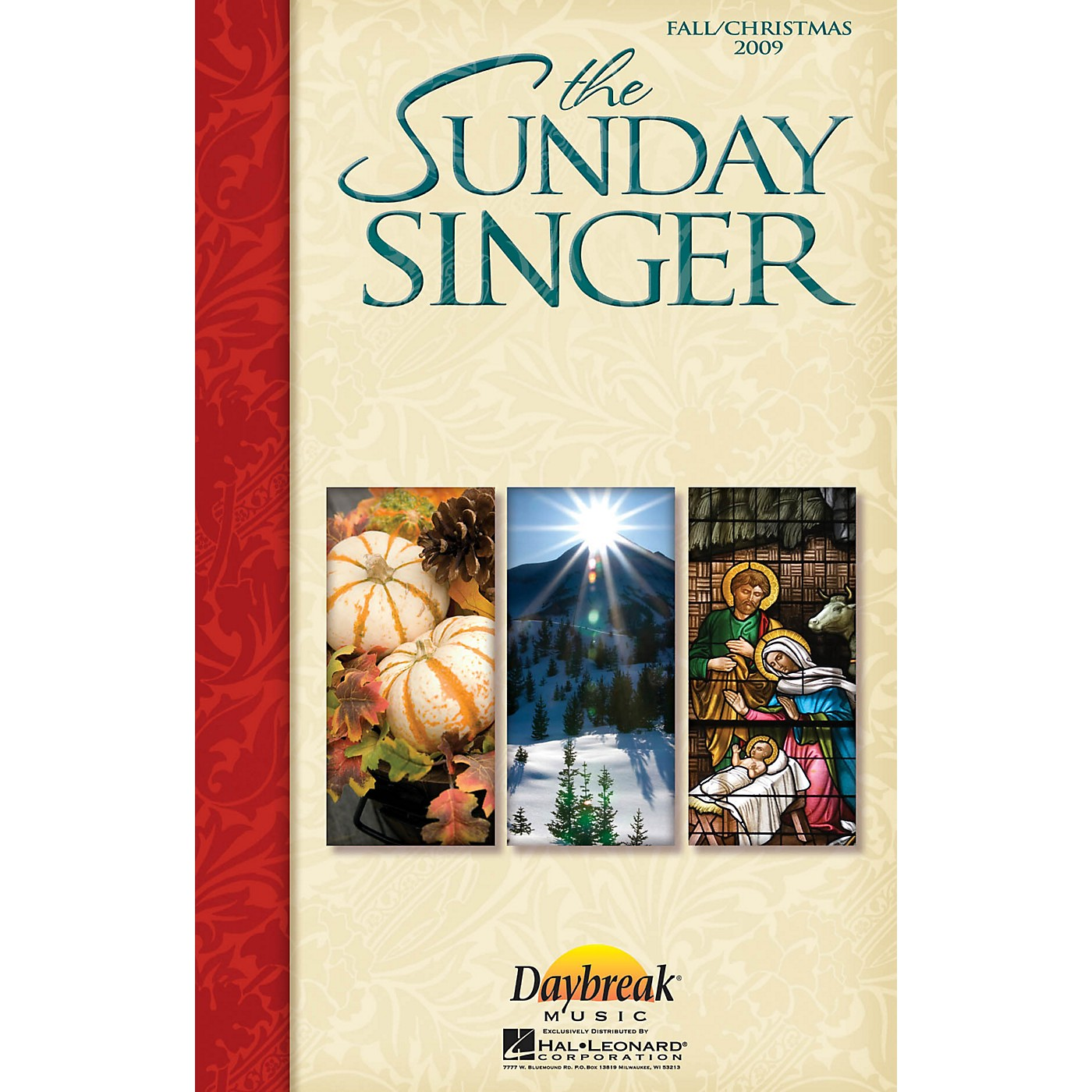 Daybreak Music The Sunday Singer (Fall/Christmas 2009) CHOIRTRAX CD thumbnail
