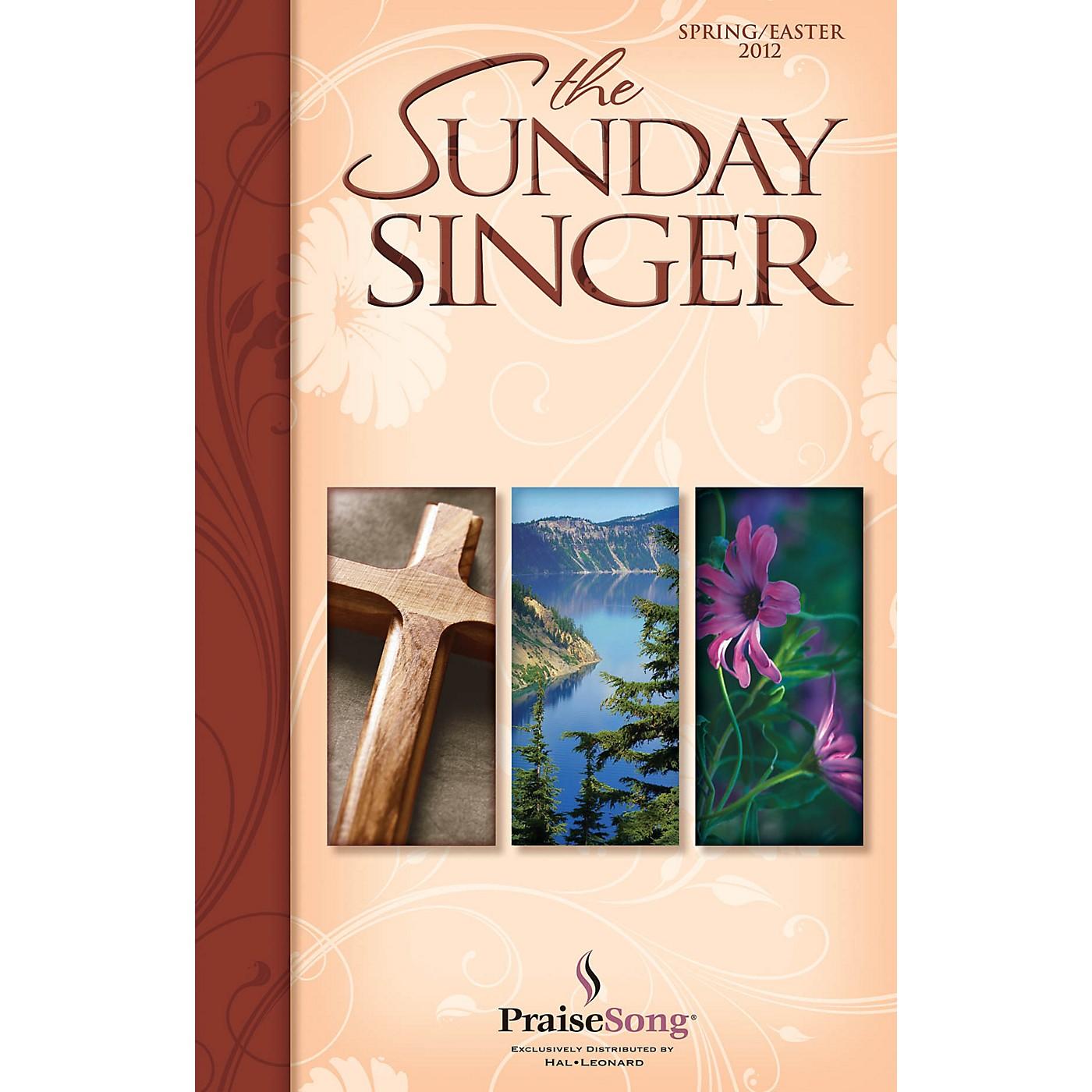 PraiseSong The Sunday Singer Spring/Easter 2012 CD 10-PAK Arranged by Keith Christopher thumbnail