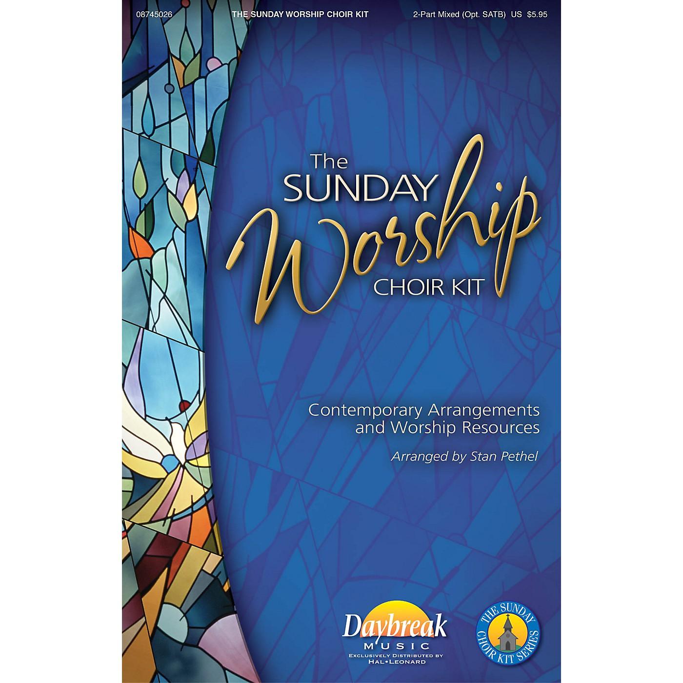 Daybreak Music The Sunday Worship Choir Kit CHOIRTRAX CD Arranged by Stan Pethel thumbnail