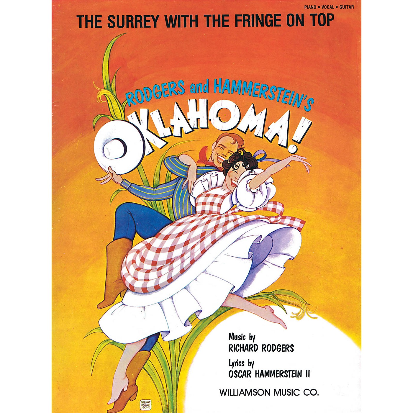 Hal Leonard The Surrey with the Fringe on Top (from Oklahoma! Piano Vocal Series thumbnail