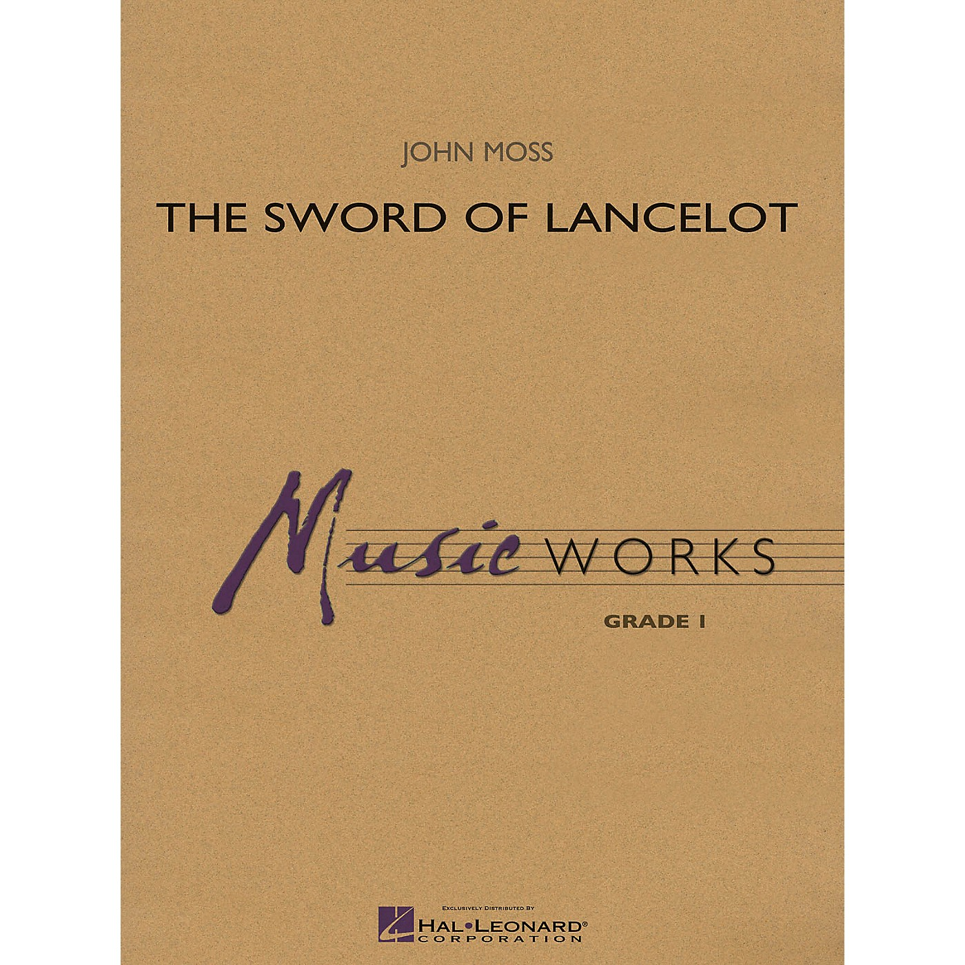 Hal Leonard The Sword of Lancelot Concert Band Level 1.5 Arranged by John Moss thumbnail