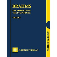 G. Henle Verlag The Symphonies Henle Study Scores Series Hardcover Composed by Johannes Brahms Edited by Michael Struck