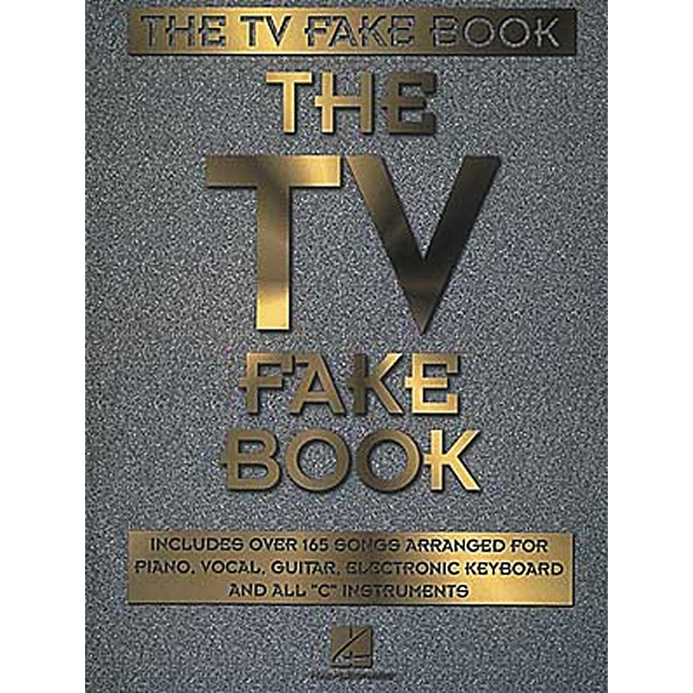 Hal Leonard The TV Fake Book Piano/Vocal/Guitar Songbook thumbnail