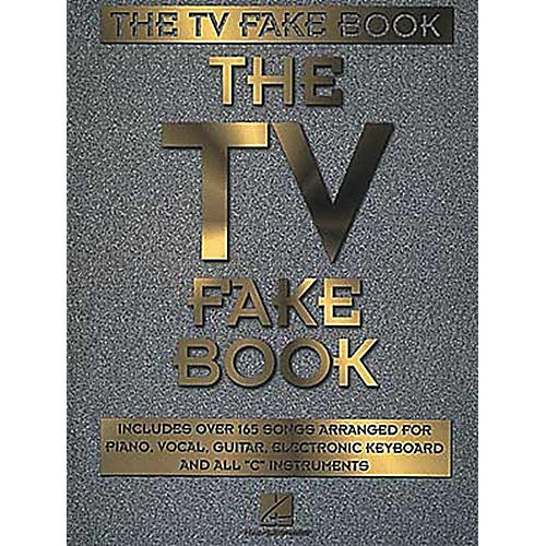 Hal Leonard The TV Fake Book Piano/Vocal/Guitar Songbook thumbnail