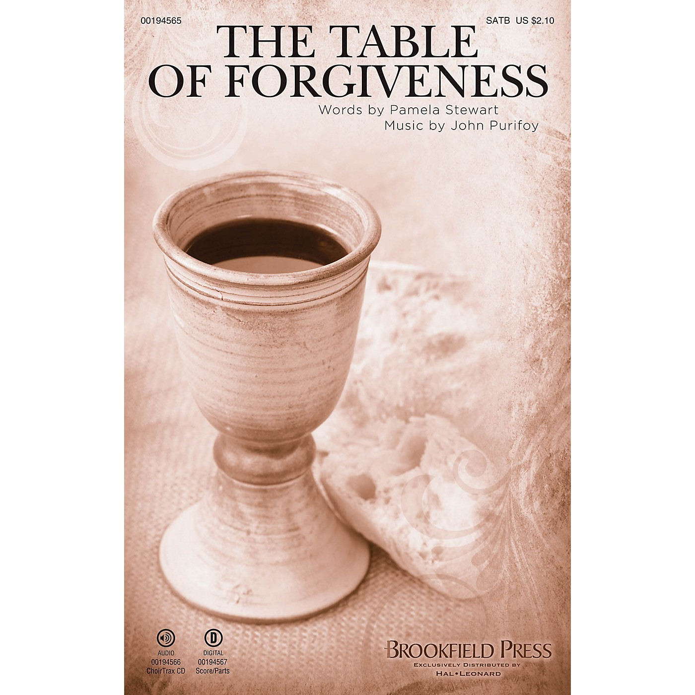 Brookfield The Table of Forgiveness SATB composed by John Purifoy thumbnail