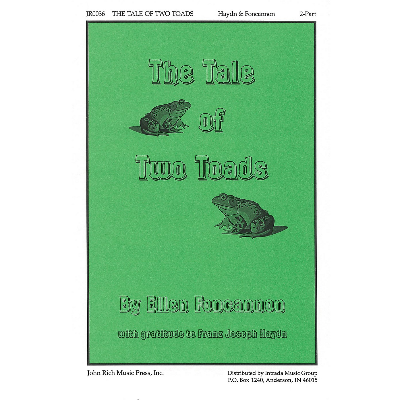 Pavane The Tale of Two Toads 2-Part composed by Franz Joseph Haydn thumbnail