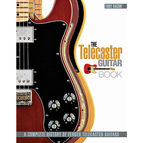 Hal Leonard The Telecaster Guitar Book - A Complete History Of Fender Telecaster Guitars thumbnail