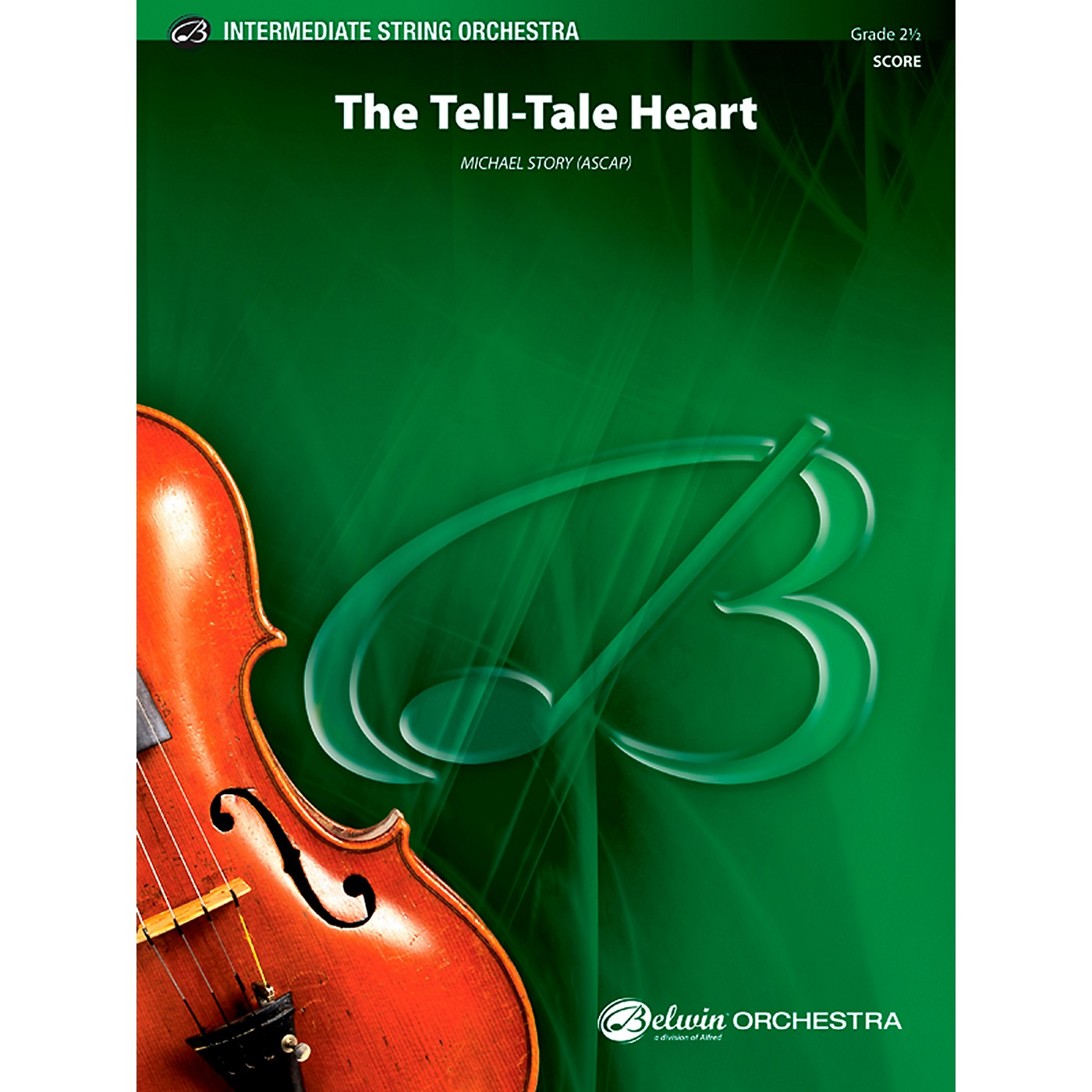 Alfred The Tell-Tale Heart - String Orchestra Grade 2.5 Set thumbnail