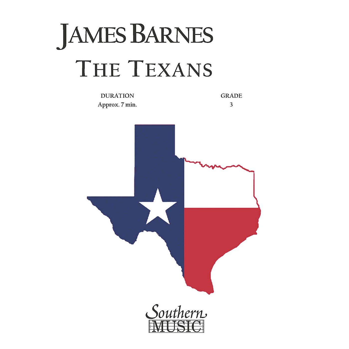 Southern The Texans Concert Band Level 3 Composed by James Barnes thumbnail
