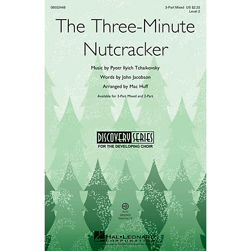 Hal Leonard The Three-Minute Nutcracker (Discovery Level 2) VoiceTrax CD Composed by Mac Huff thumbnail