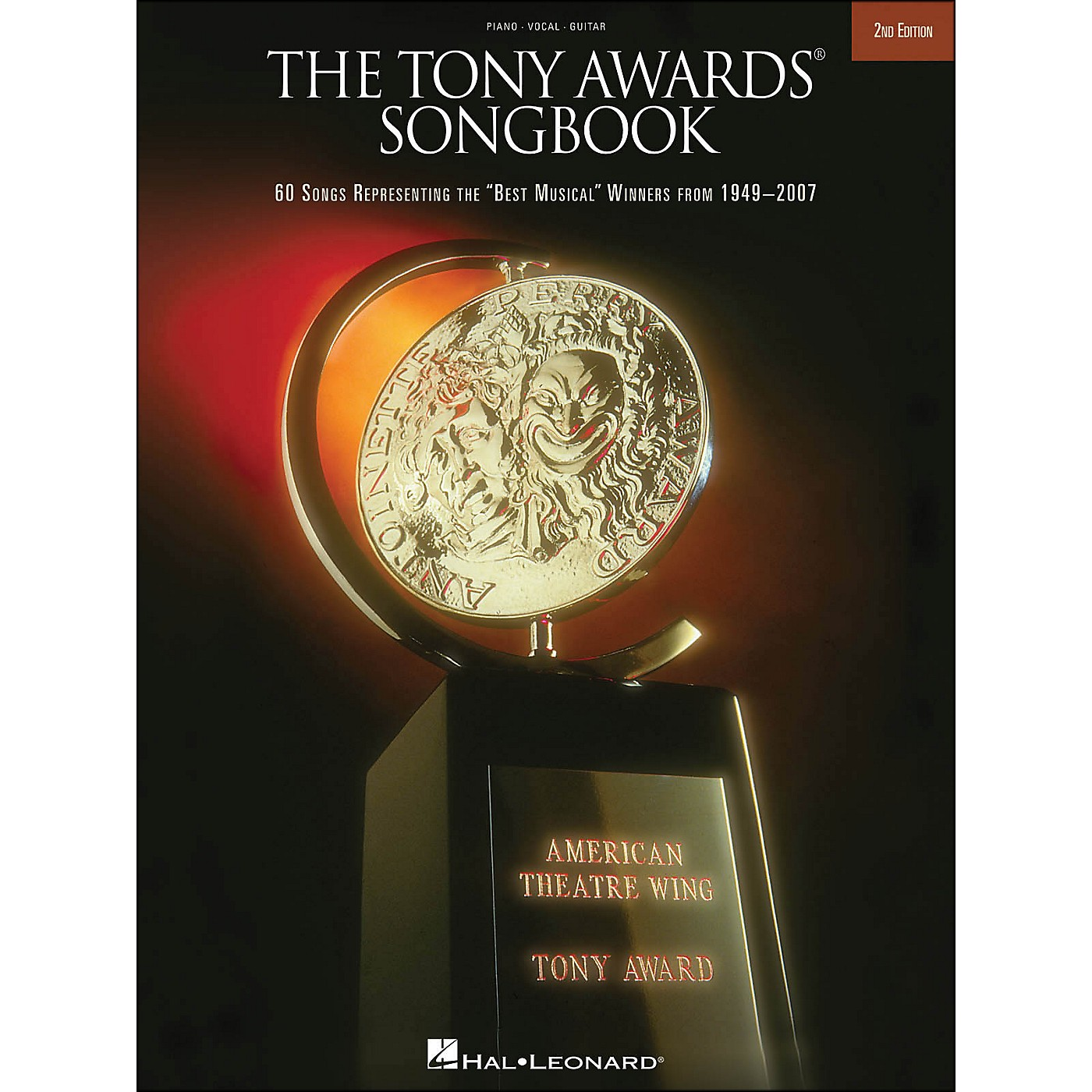 Hal Leonard The Tony Awards Songbook 2nd Edition arranged for piano, vocal, and guitar (P/V/G) thumbnail