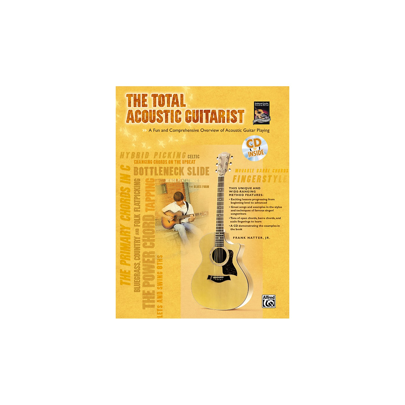 Alfred The Total Acoustic Guitarist Book and CD thumbnail