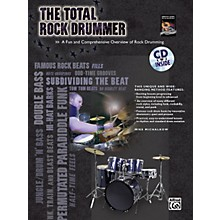 Alfred The Total Rock Drummer Book/CD