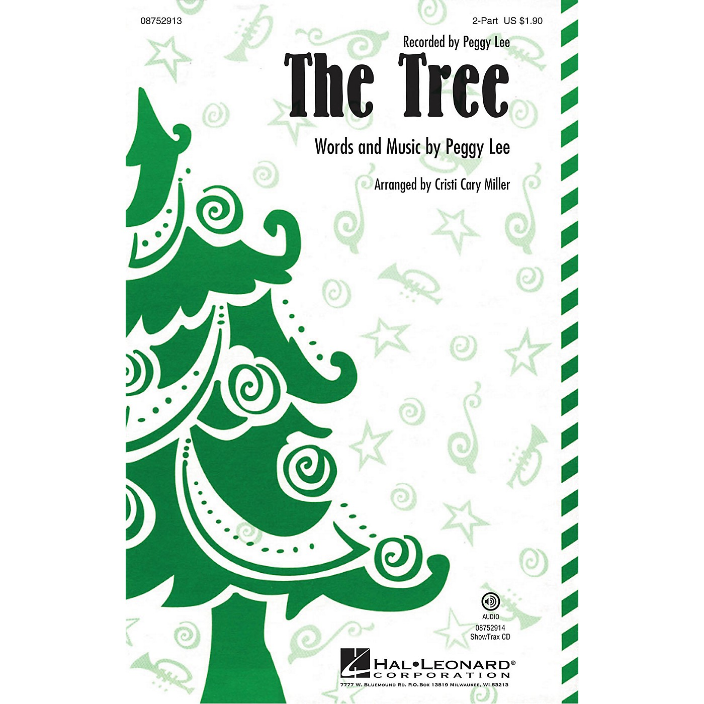 Hal Leonard The Tree 2-Part by Peggy Lee arranged by Cristi Cary Miller thumbnail