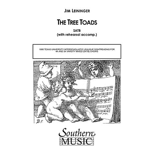 Hal Leonard The Tree Toads (Choral Music/Octavo Secular Satb) SATB Composed by Leininger, Jim thumbnail