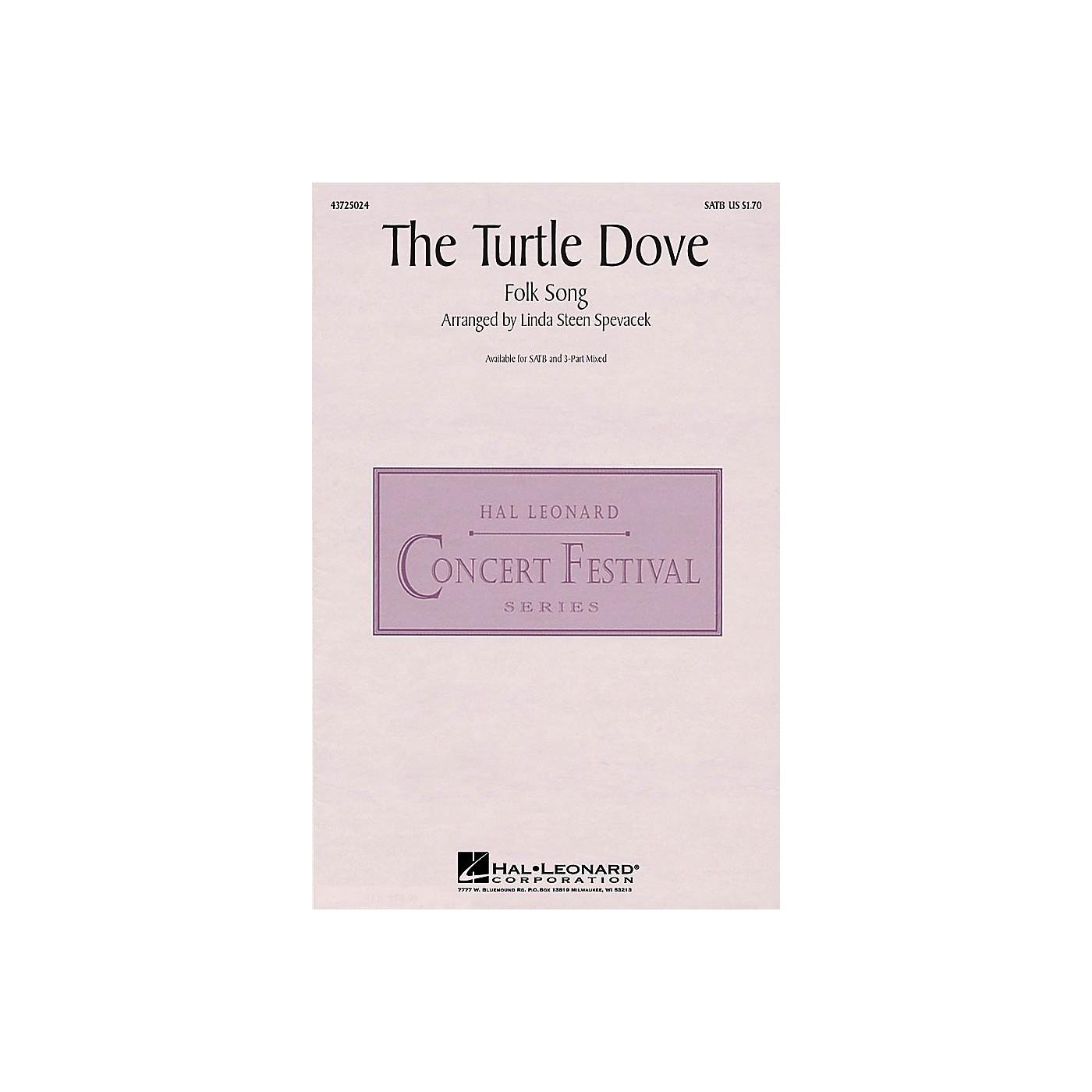 Hal Leonard The Turtle Dove SATB arranged by Linda Spevacek thumbnail