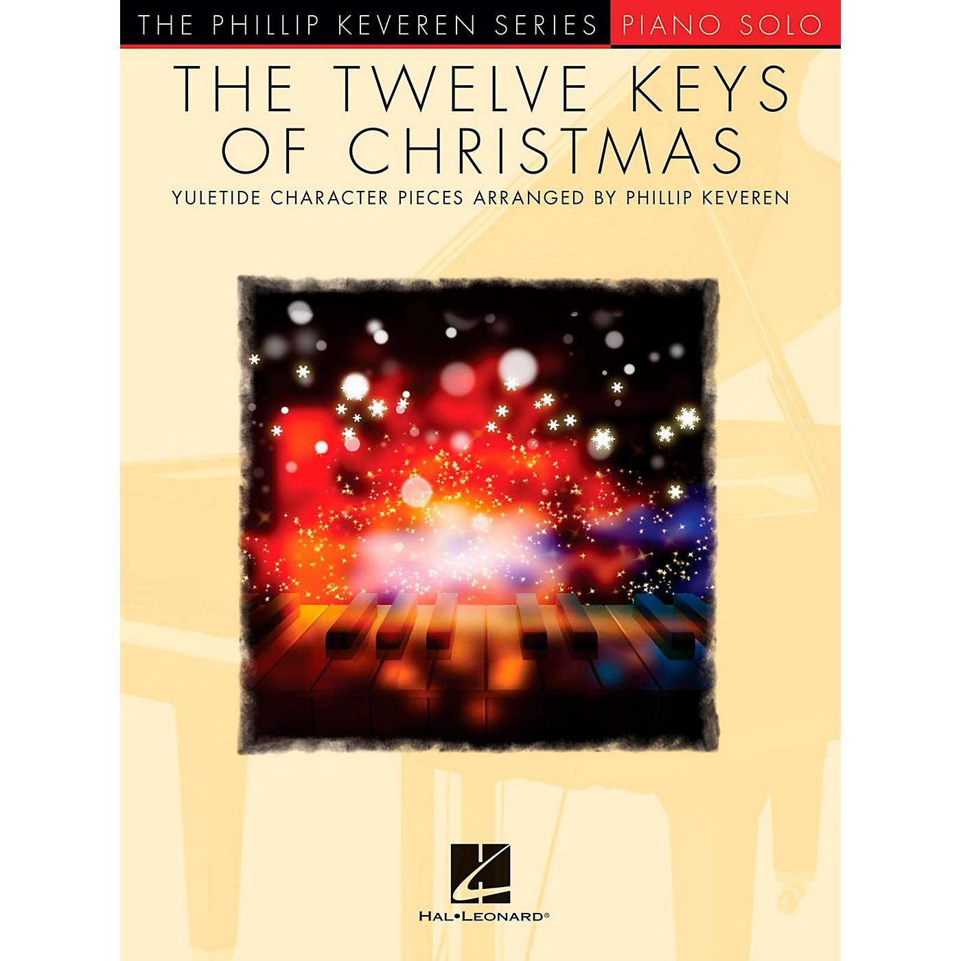 Hal Leonard The Twelve Keys Of Christmas - Phillip Keveren Series - Piano Solo thumbnail