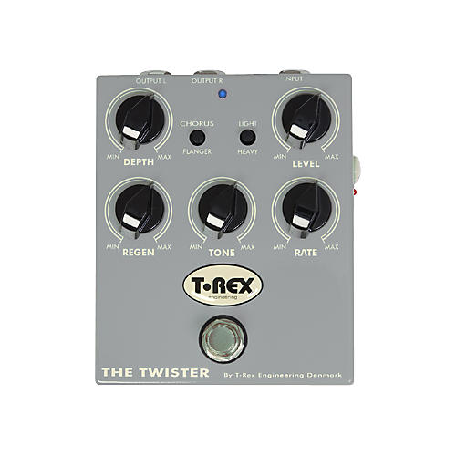 T-Rex Engineering The Twister Chorus/Flanger Guitar Effects Pedal thumbnail