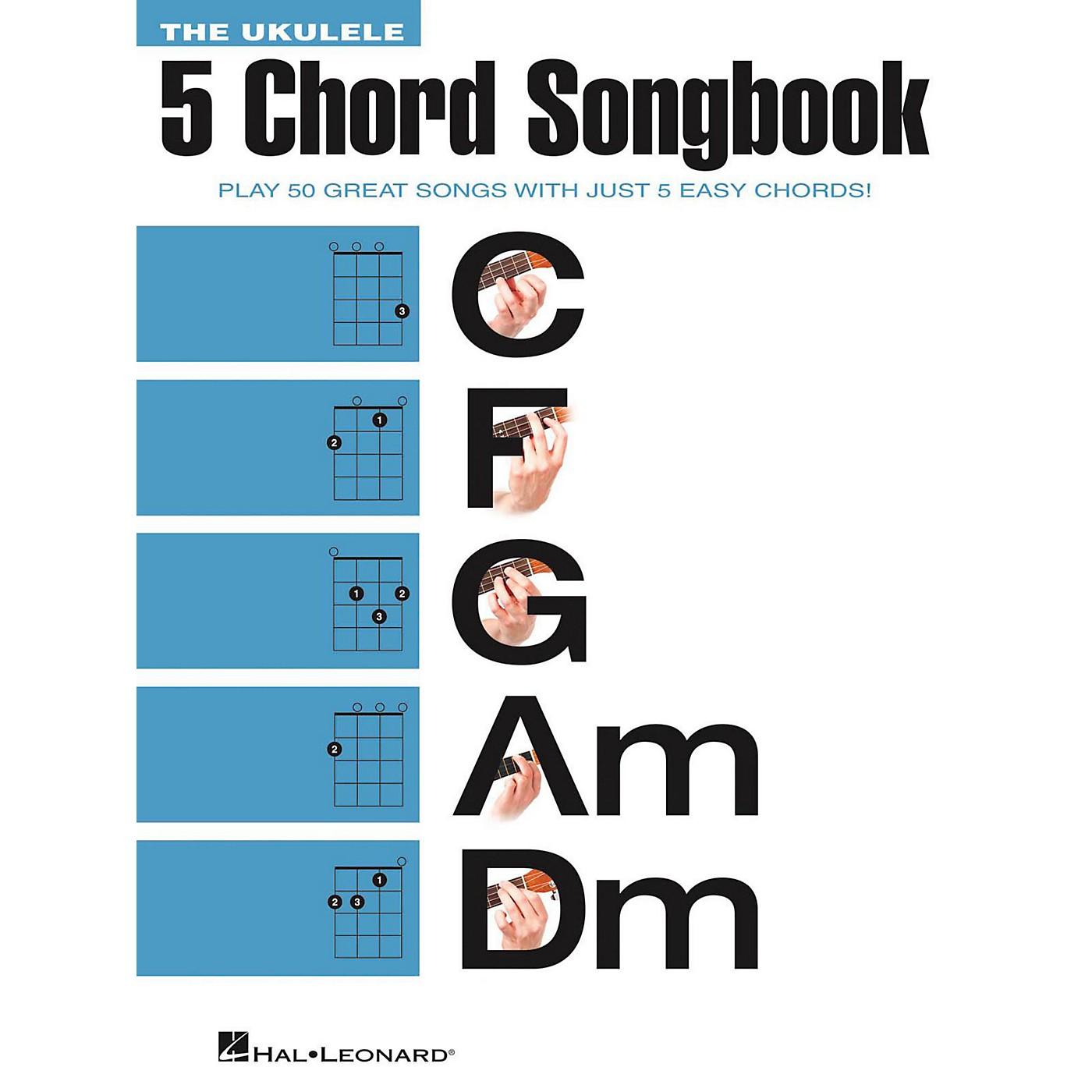 Hal Leonard The Ukulele 5 Chord Songbook (C-F-G-Am-Dm) thumbnail