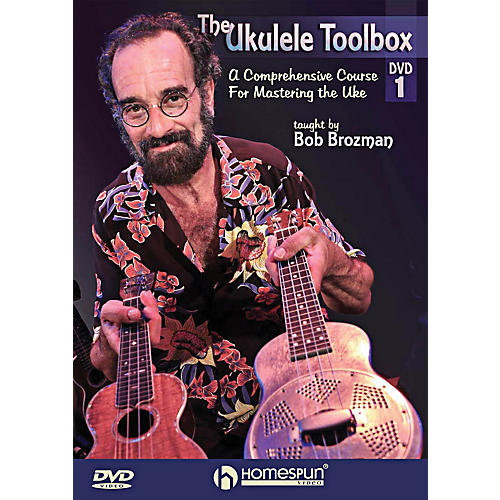 Homespun The Ukulele Toolbox 2-DVD Set thumbnail