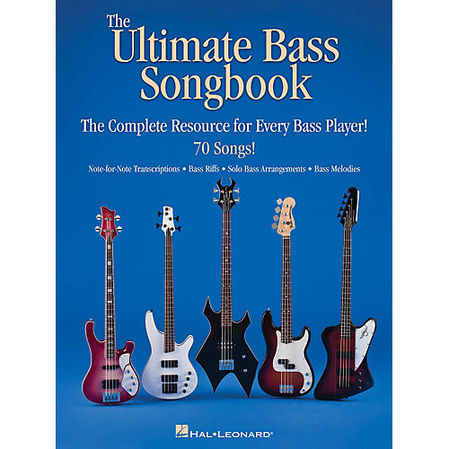 Hal Leonard The Ultimate Bass Songbook - The Complete Resource For Every Bass Player thumbnail