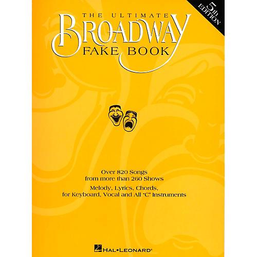 Hal Leonard The Ultimate Broadway Fake Book thumbnail