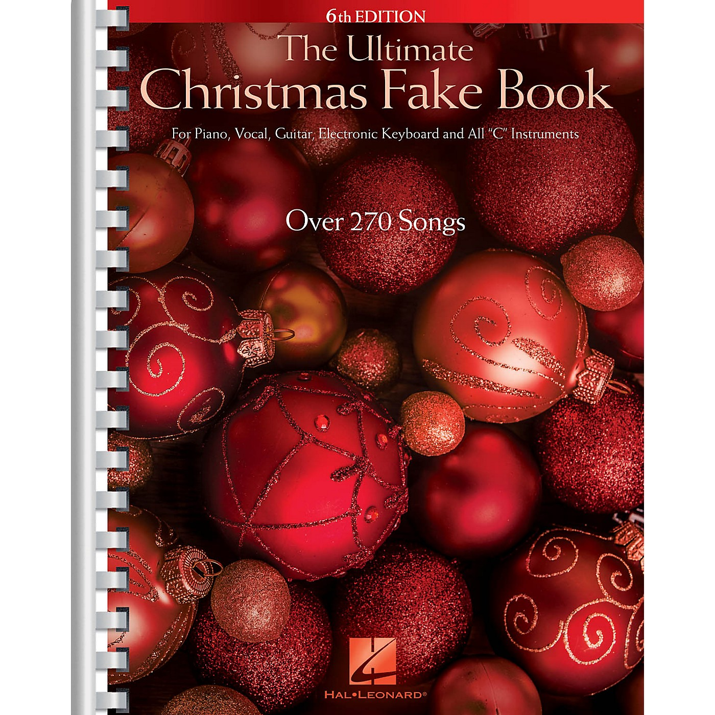 Hal Leonard The Ultimate Christmas Fake Book - 6th Edition Fake Book Series Softcover thumbnail