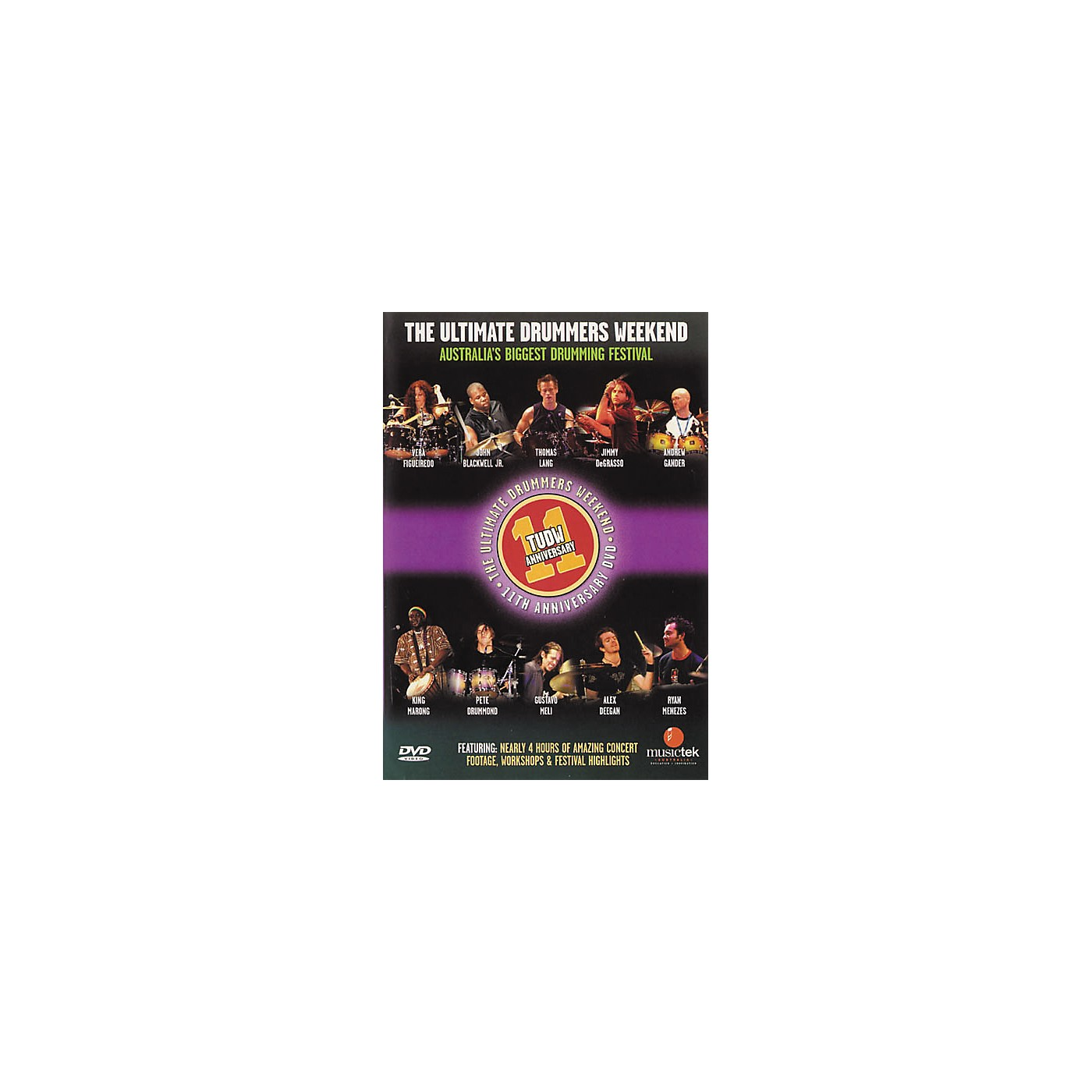Hudson Music The Ultimate Drummers Weekend #11 (DVD) thumbnail