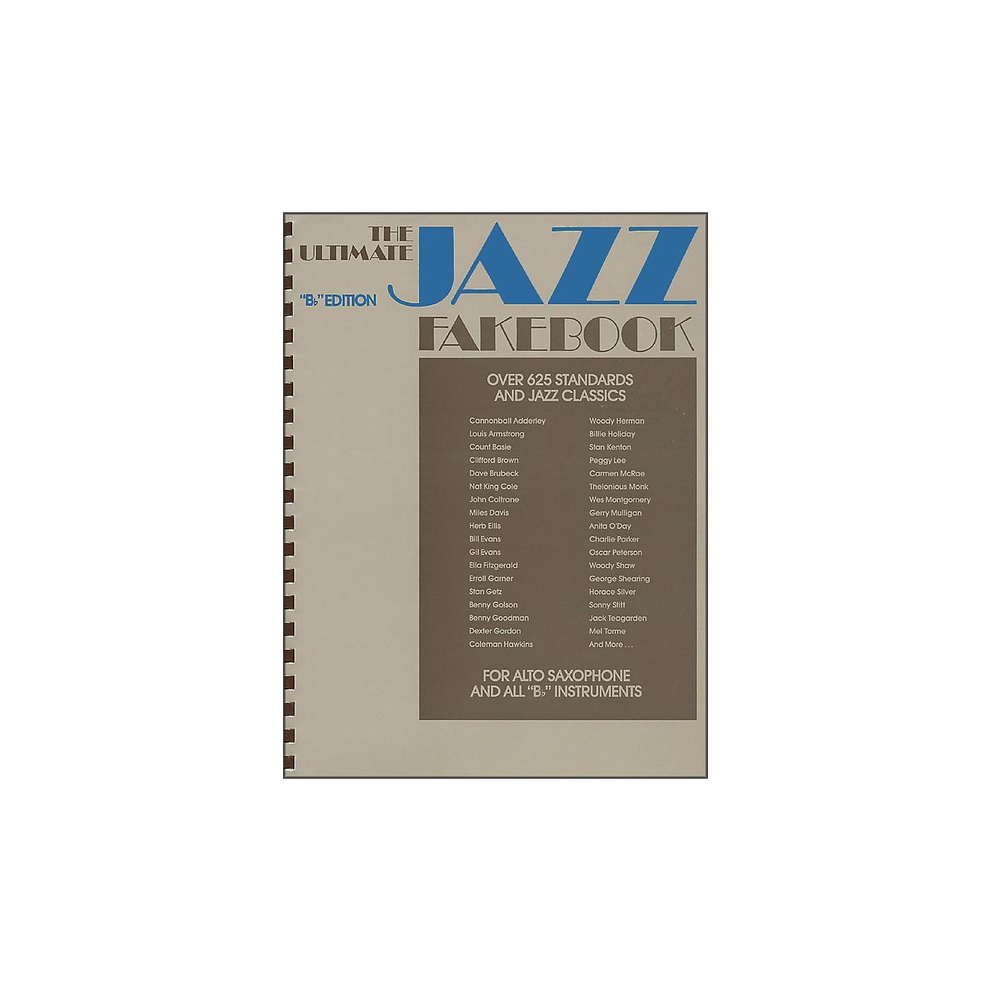 Hal Leonard The Ultimate Jazz Fake Book, The B Flat Edition thumbnail
